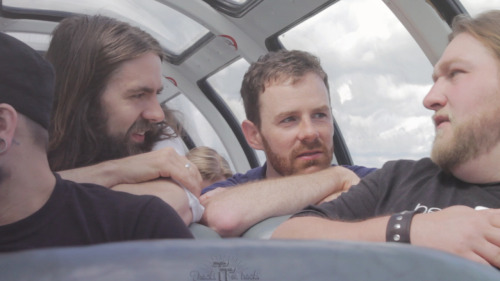 The Maine hanging out in the Skyview Car