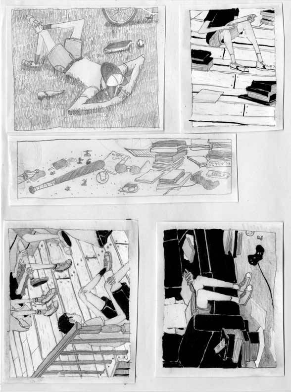 Thumbnails studies {Andrew R. Wright}