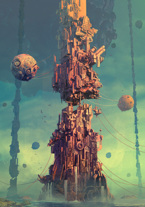 unknownskywalker:  The tower by Ruidan