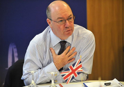 PICTURED ABOVE: Alistair Burt.  Bahrain-British friendship hailed as visit is planned  British Foreign and Commonwealth Office (FCO) state minister for the Middle East and Asia Alistair Burt is set to visit Bahrain to hold talks with officials as part of a GCC tour. His Highness Shaikh Nasser bin Hamad Al-Khalifa today held a telephone conversation with Mr. Burt and discussed historic friendship bonding the Kingdom of Bahrain and the UK and means of boosting bilateral relations. Shaikh Nasser hailed British stance in support of the reform process initiated by His Majesty King Hamad bin Isa Al-Khalifa. He lauded British experts for providing Bahrain with their technical knowhow to promote human rights and police work. He reaffirmed Bahrain's stance welcoming British expertise, stressing friendship between Bahrainis and British people who worked in the Kingdom. Both sides were unanimous regarding the positive efforts exerted by the Kingdom of Bahrain to continue the march of reform. They cited particularly the landmark initiative of HM King Hamad regarding the establishment of the Bahrain Independent Commission of Inquiry (BICI) and the endorsement of its recommendations, in addition to the National Dialogue initiatives towards consolidating Bahrain's stability.
