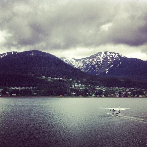 Have arrived in #Juneau. (Taken with Instagram)