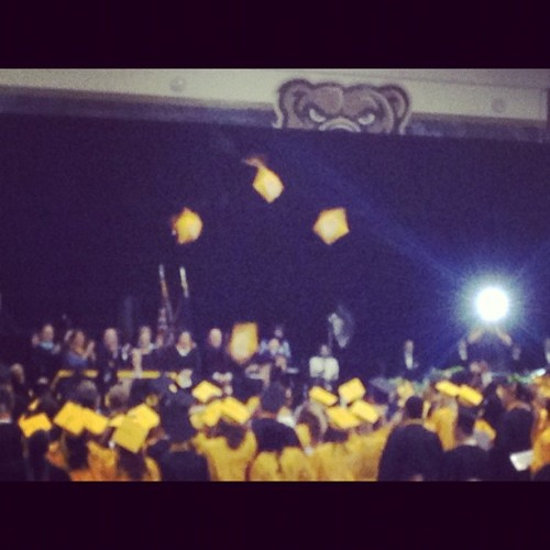 #LasherHighClassOf2012 Devin Banks!  WE ARE MARSHALL (Taken with Instagram)