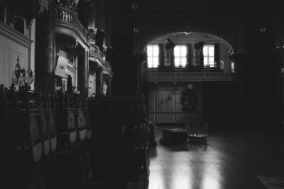 "Paul Pride photo. ""Town Hall Interior"" Cheltenham, UK. 2012."