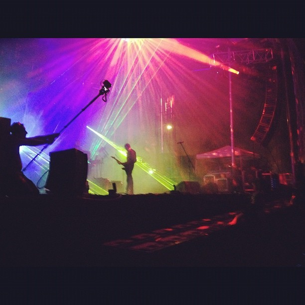 Ghostland observatory (Taken with Instagram at Starscape at Fort Armistead Park)