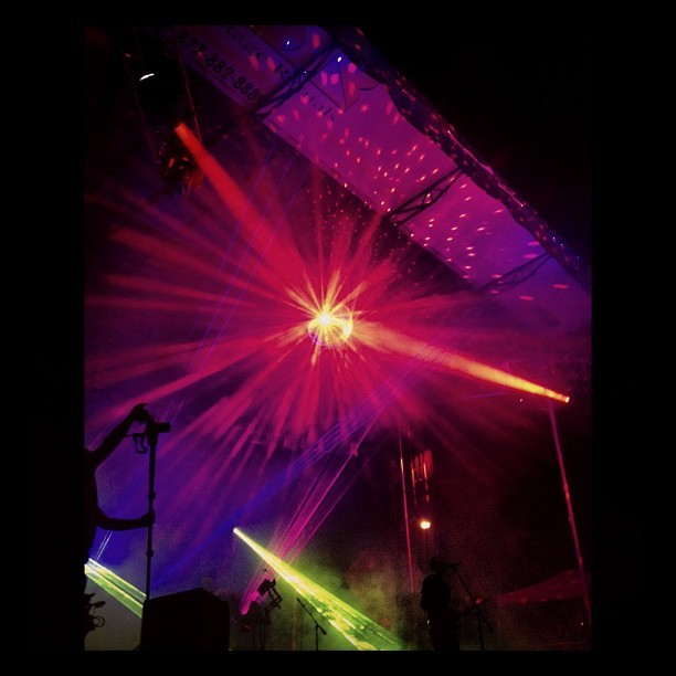ghostland observatory Taken with Instagram at Starscape at Fort Armistead Park