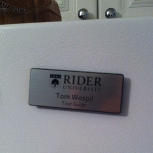 You can tell @wospil54 has moved on college. (Taken with Instagram)
