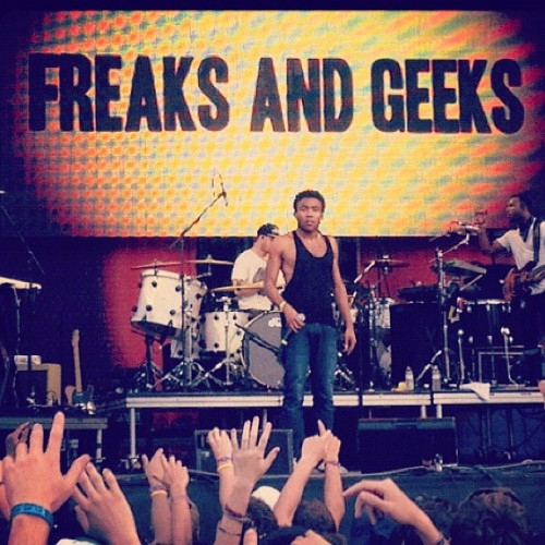 Childish Gambino live on stage at Bonnaroo 2012 Follow us on Instagram! (username: alterthepress)