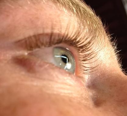 Eyelash Extensions Brown 55
