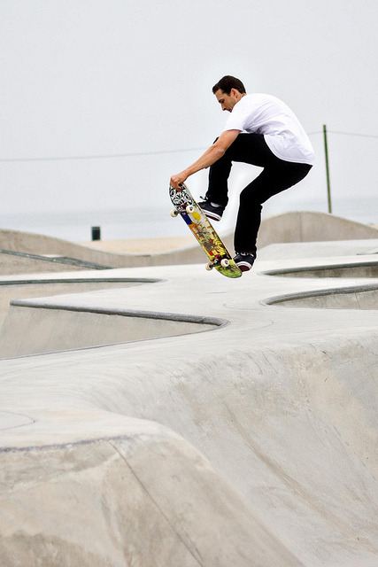 cheesebvrger:  Venice Beach Skate Park by winnie0917 on Flickr.