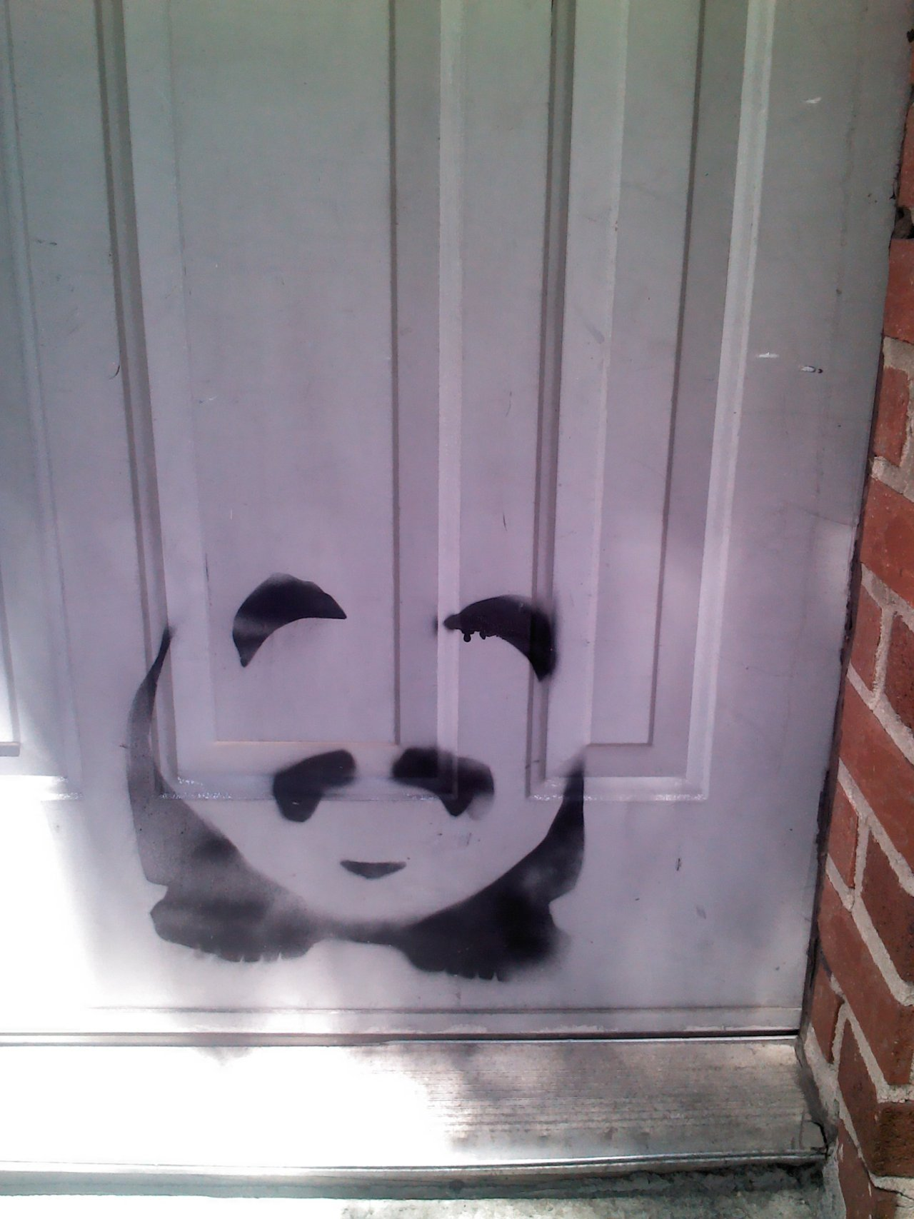 little door panda