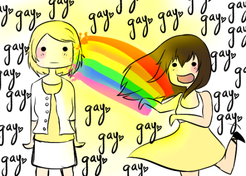 risking-hearts:  OMG HEY FANART. LOL ITS MY OTP, FABERRY. YAYFABERRYYAY. lol just fun doodles, I hope you like it <3