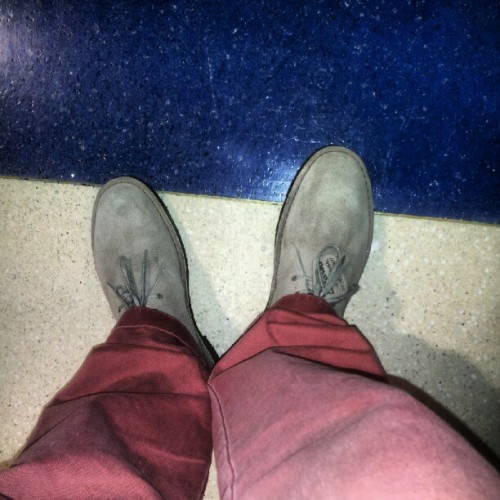 desert boots. daytime more swag later for #1hunna  (Taken with Instagram)