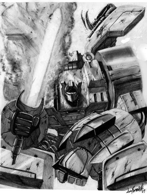 windwave:  Grimlock by ~Livio27