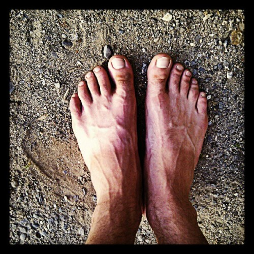 Man veins+toms tanlines (Taken with Instagram)