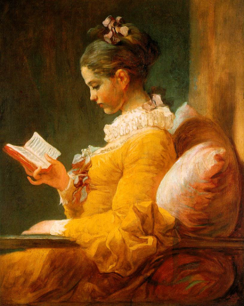 The Reader, 1770–72 (reblog with detail) Jean-Honoré Fragonard Detail