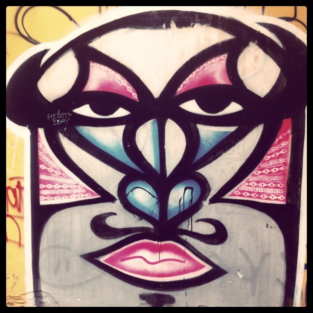#berlin #streetart  (Taken with Instagram)
