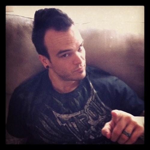 My big brother's a tough guy 😉 (Taken with Instagram)