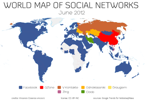 thenextweb:  (via World Map Of Social Networks Shows Facebook's Global Dominance)