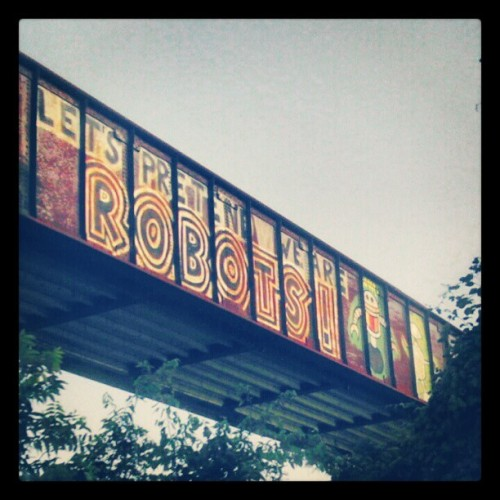 one of my favorite graffiti tags! (Taken with Instagram at Lady Bird Lake)