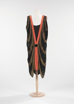 omgthatdress:  Dress 1925 The Metropolitan Museum of Art