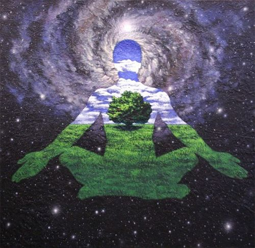 starseed420:  cloudeddreams9:  Become One With Nature  we are already one with nature silly (: