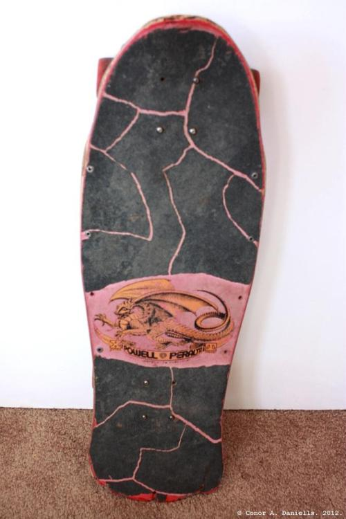 """Original Powell Caballero Skateboard"" © Conor A. Daniells. 2012. All Rights Reserved."