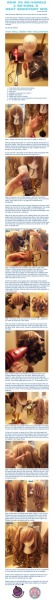 How to De-tangle and Re-curl a Heat Resistant Wig by *MoogleGurl This was so helpful