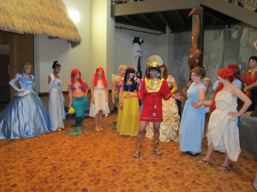 answrspicsandcrap:  Kuzco was my favorite Disney princess~  They're all just jealous of my legs.