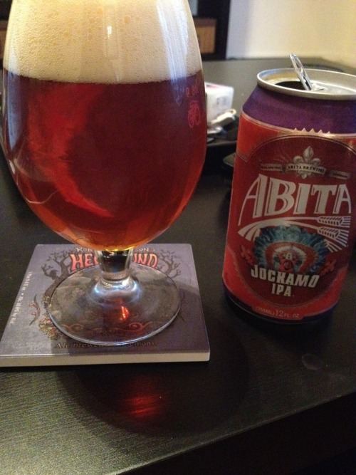 Abita Brewing | Jockamo IPA | 6.5% ABV IPA This beer is fucking weird. Tastes like Italian spices. Garlic cheese bread? I don't know. Maybe I got a bad can. Says best by 8.2.12. I can't even finish this. Gross. Price: $8.99/6pack Rating: 1/10