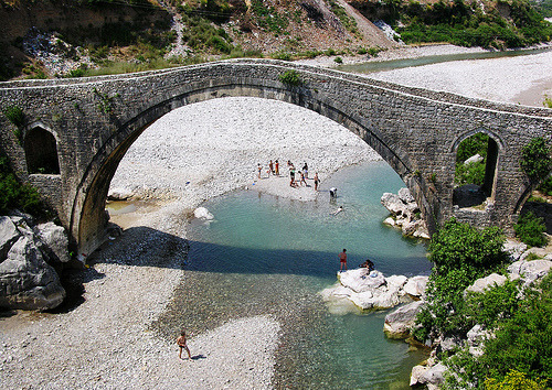 Mesi Bridge, Albania