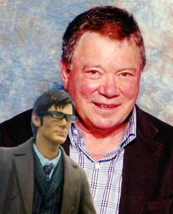 "Me and William Shatner. Yes, I couldn't believe my eyes either. I actually feature on his ""The Transformed Man"" album. If you listen carefully, you can hear me."