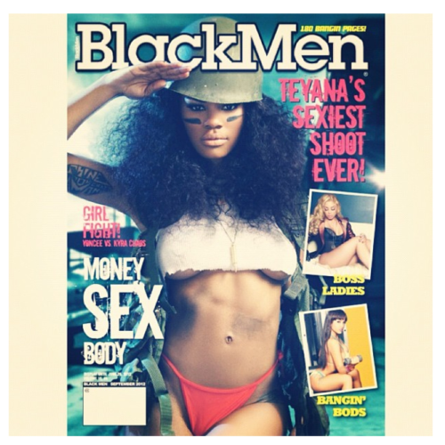 "@TeyanaTaylor's Cover For Black Men Magazine is Told To Be Her ""Sexiest Shoot EVER"" Pick It Up June 19th!!!!!"