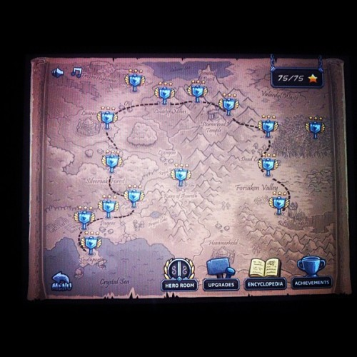 I have completed my journey!! #kingdomrush #ipad #game  (Taken with Instagram)