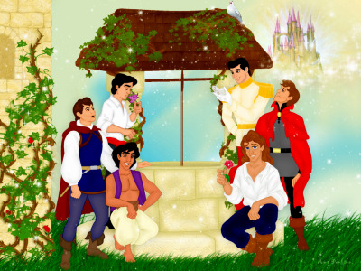 sevensilentlyfalling:  Who can name a disney prince besides Erik and Aladin without cheating? All of them anyone?  and no, only ONE is prince charming.
