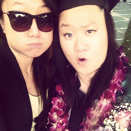 so happy we cant even smile! #faceSOswollen #chubbychipmunk #congratulations (Taken with Instagram)