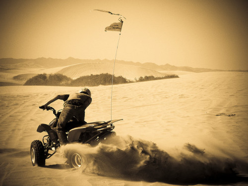 Pismo Beach On my wish list for this summer: riding an ATV on the Pismo Beach sand dunes.