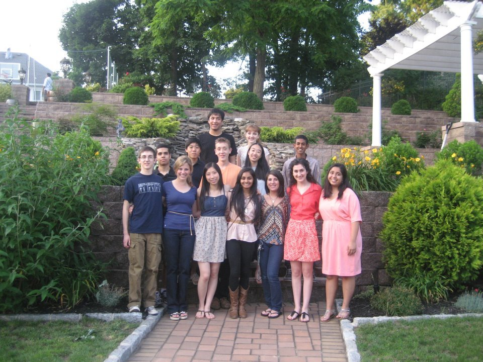 Omar's graduation party with gov school babies <3