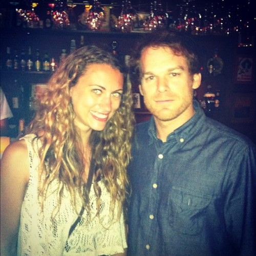 Highlight of my life — Got to meet Michael C. Hall :) (Taken with Instagram at Largo at the Coronet)