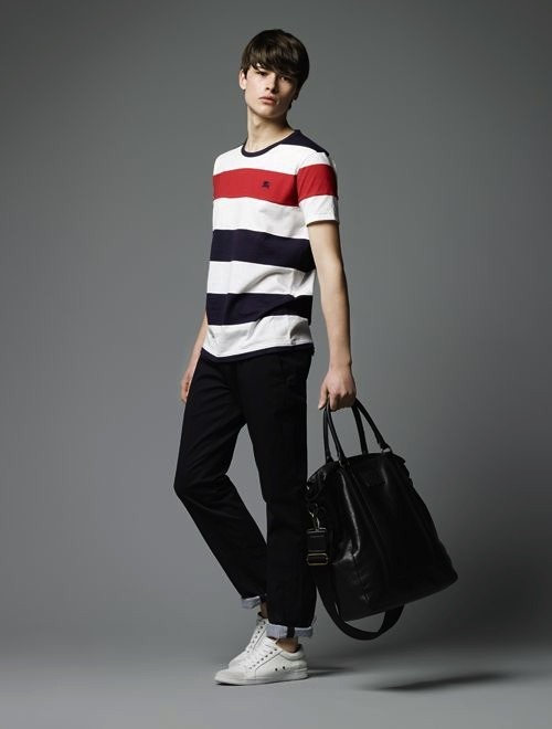 Burberry Black Label SS12 Lookbook