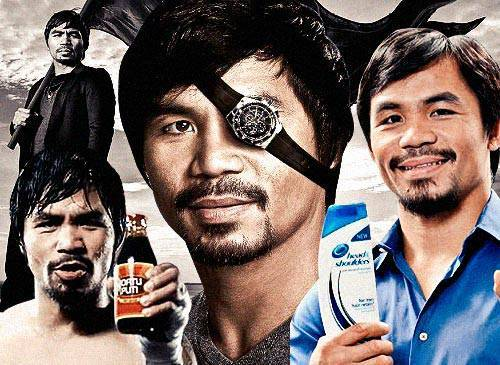 pinoytumblr:  Top 10 Wackiest Manny Pacquiao Ads Pinoy boxing icon Manny Pacquiao isn't just a champion in the ring, he's also a heavyweight endorser. Whatever the product is, you just stick his face on it or tap him to star in the ad and it will probably sell. We have to admit, though, that some of the products he hawks don't quite fit his image. Forget those slick ads that look like clips from Hollywood movies (Pacquiao's Hennessy is simply beautiful), we zeroed in on his 10 wackiest ads. Read more »