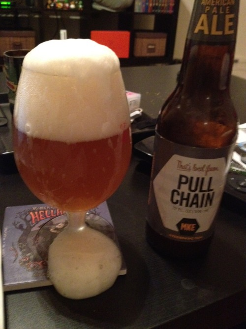 Milwaukee Brewing Co | Pull Chain | 5% ABV Pale Ale Why is this so carbonated?! This tastes nothing like a pale ale. What the fuck were these dicks thinking? Pale ale my dick hole. Ew. Pour. Price: $9.99/6pack Rating: 1/10