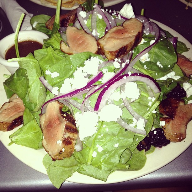 Duck salad 😍 (Taken with Instagram at Cafe Brasil)