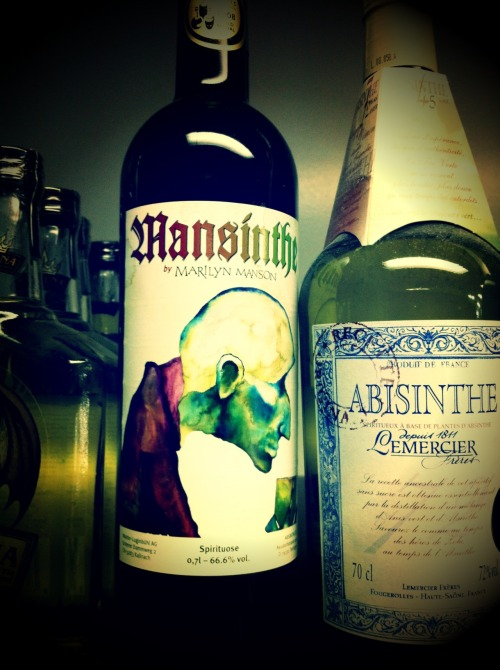 mushroomomens:  I've always wanted to try Mansinthe. o.o  twisted was just talking about this the other day haha
