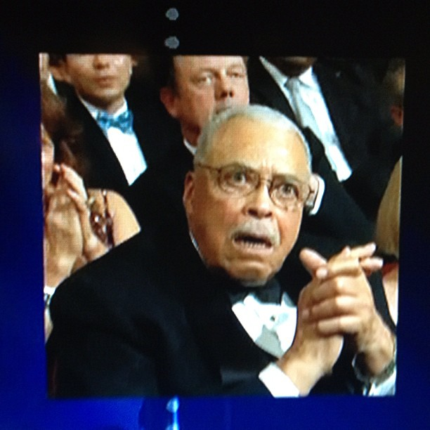 James Earl Jones Tony 2012 Face