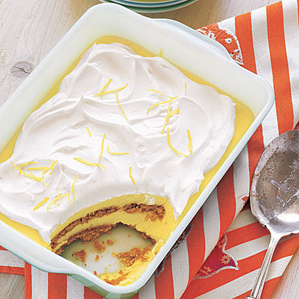 Lemon-Graham Icebox Cake #recipe via @allyou