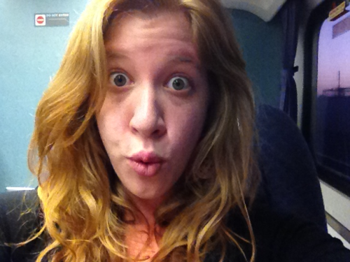 heavenweather:  i just rode the train for free. woooooo. this is my o-face. i maintain this expression while getting banged. whole time.