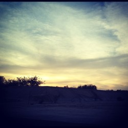 a meaningless movement, a movie script ending… (tomada con Instagram en Carretera San Jose - San Lucas)