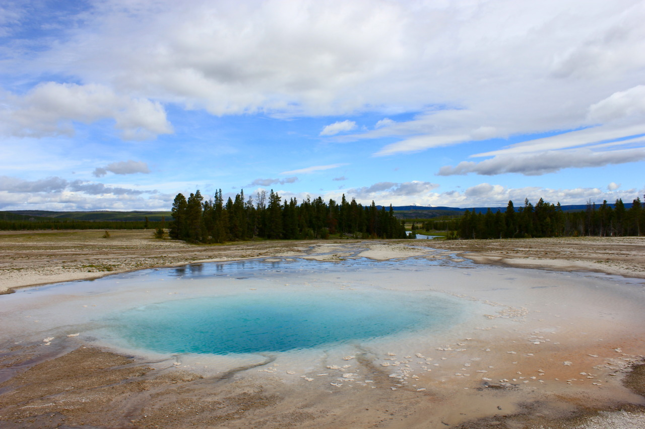 Opal Pool, Midway Geyser Basin, Yellowstone National Park