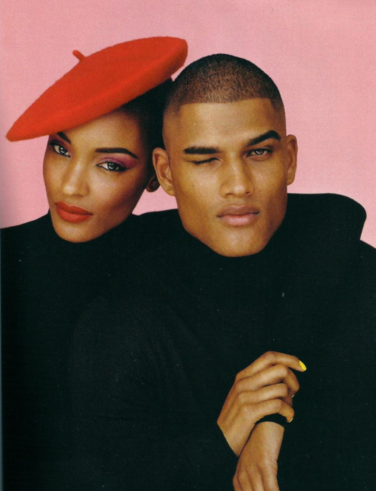 Jourdan Dunn & Rob Evans -  i-D Magazine