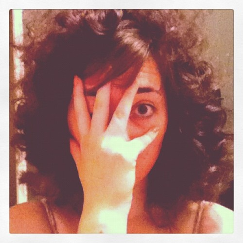 Operation Jew fro….complete #jew #hair #racist (Taken with Instagram)